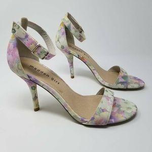 Steve Madden Girl Womens G-Daring Heels Lilac Pink